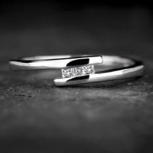 """Sužadėtuvių žiedas su Deimantais """"Trilogy 38"""""""