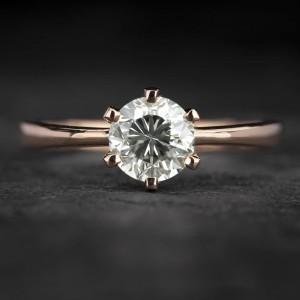 """Sužadėtuvių žiedas su Briliantu """"Enchanting 11"""""""