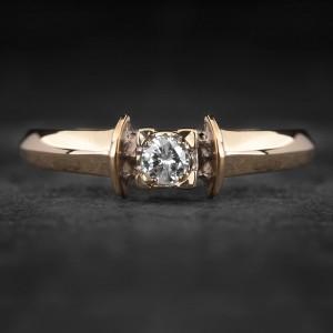 """Sužadėtuvių žiedas su Briliantu """"The Diamond 65"""""""