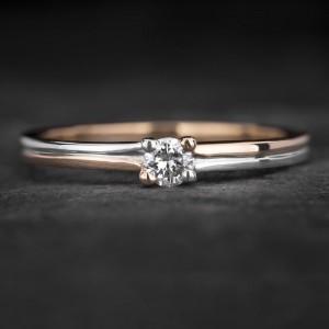 """Sužadėtuvių žiedas su Briliantu """"The Diamond 67"""""""