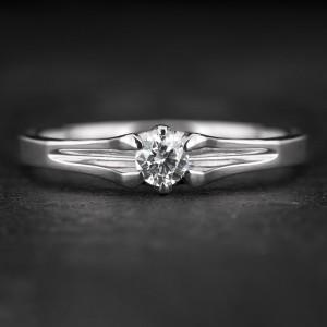"""Sužadėtuvių žiedas su Briliantu """"Energy 2"""""""