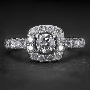 """Auksinis žiedas su Briliantais """"Tiara 32"""""""