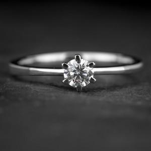 """Sužadėtuvių žiedas su Briliantu """"Classic 39"""""""