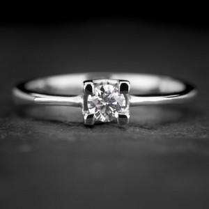 """Sužadėtuvių žiedas su Briliantu """"The Diamond 72"""""""