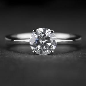 """Sužadėtuvių žiedas su Briliantu """"Enchanting 12"""""""
