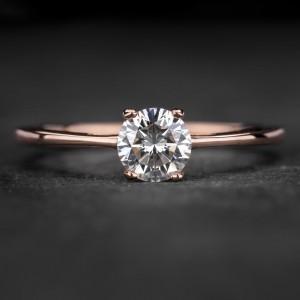 """Sužadėtuvių žiedas su Briliantu """"The Goddess 83"""""""