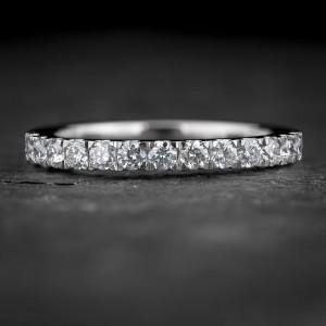 """Auksinis žiedas su Briliantais """"Deimantinė Juostelė 40"""""""