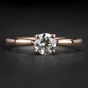 """Sužadėtuvių žiedas su Briliantais """"The Elegance 80"""""""