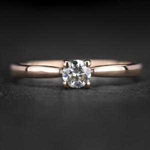 """Sužadėtuvių žiedas su Briliantais """"The Elegance 81"""""""
