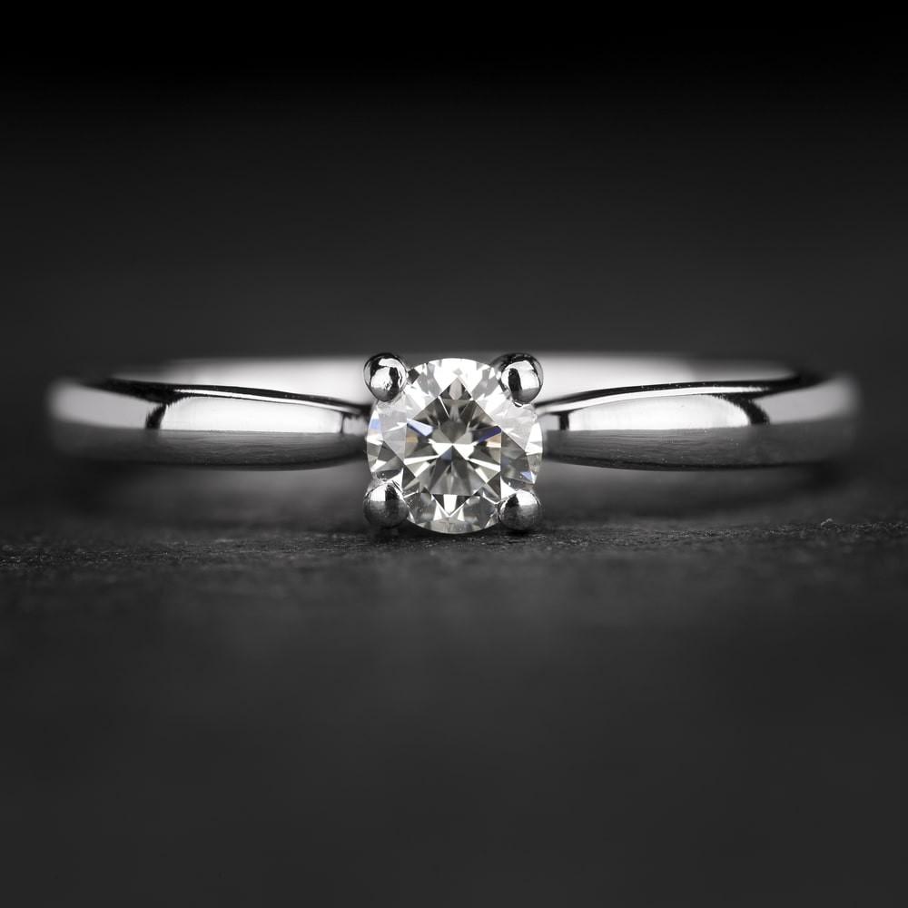 """Sužadėtuvių žiedas su Briliantais """"The Elegance 82"""""""