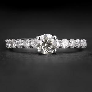 """Sužadėtuvių žiedas su Briliantais """"The Elegance 85"""""""