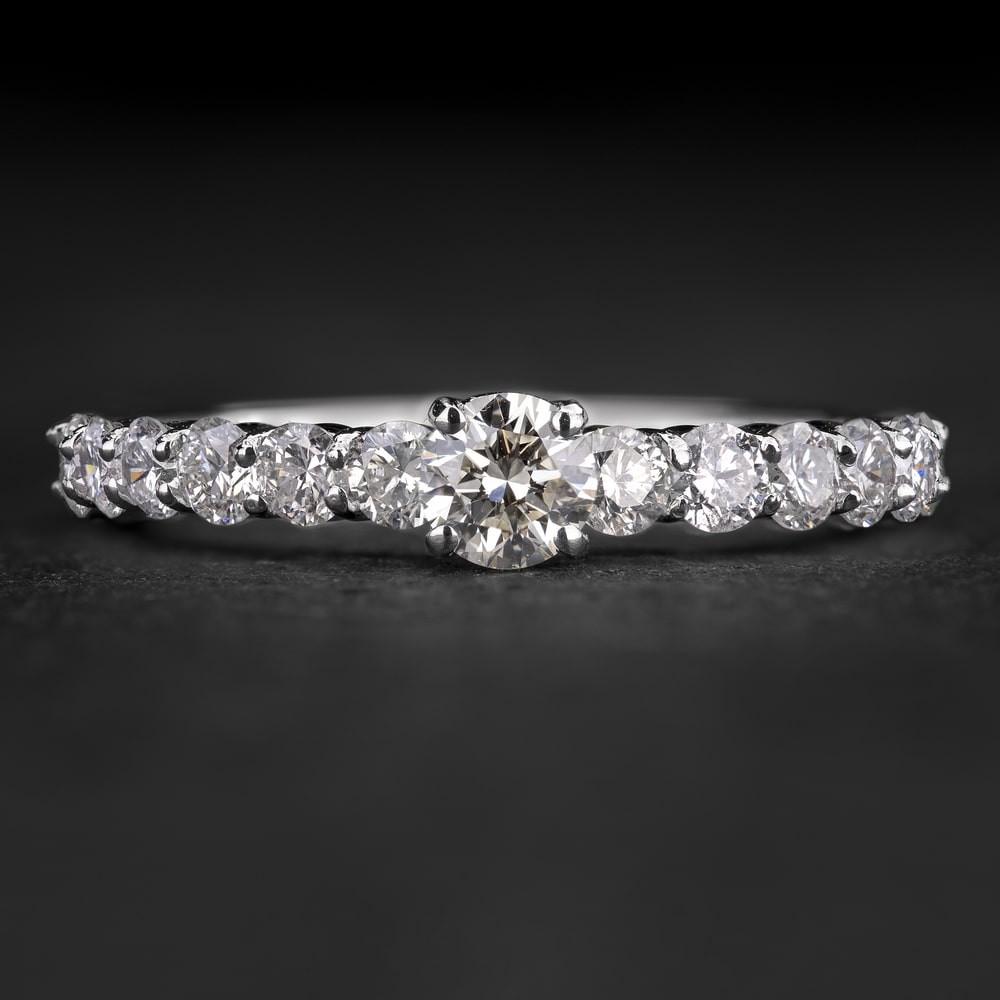 """Sužadėtuvių žiedas su Briliantais """"The Elegance 91"""""""