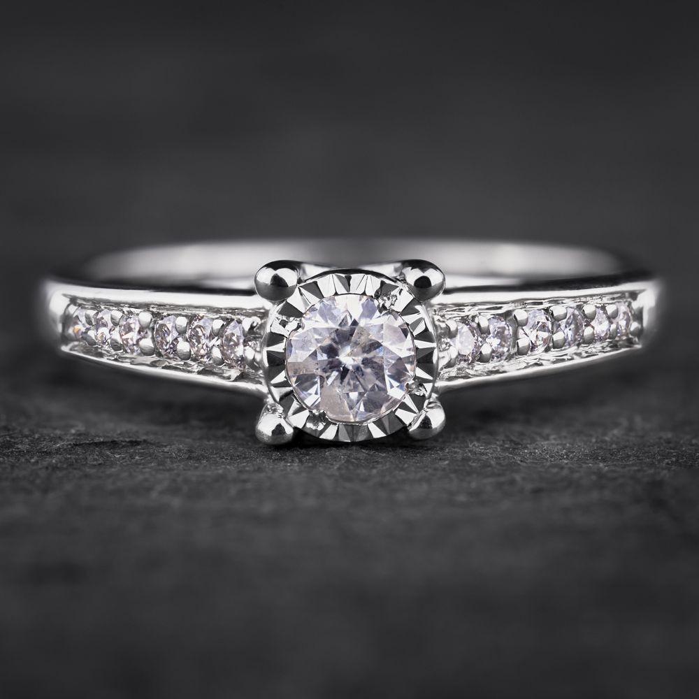"""Auksinis žiedas su Briliantais """"Nuostabusis"""""""