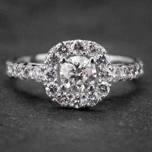 """Auksinis žiedas su Briliantais """"Tiara 10"""""""