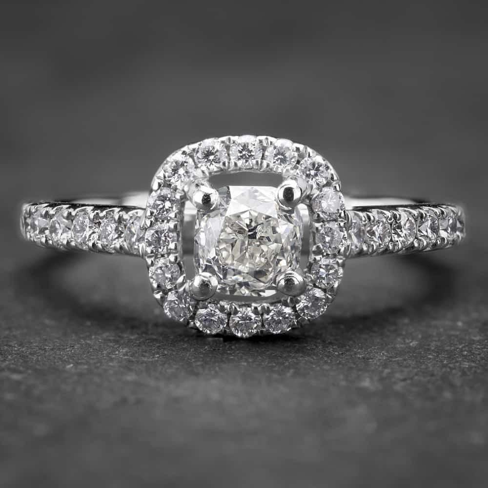 """Auksinis žiedas su Deimantais """"Tiara 11"""""""