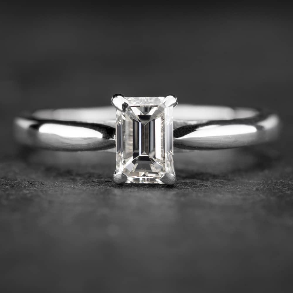 """Sužadėtuvių žiedas su Deimantu """"The Diamond 40"""""""