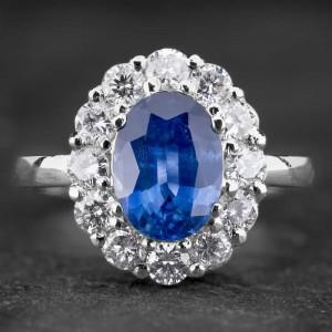 """Auksinis žiedas su Brangakmeniais """"Aristokratas VIII"""""""